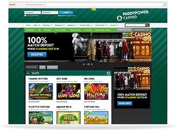 Paddy Partners Homepage Image