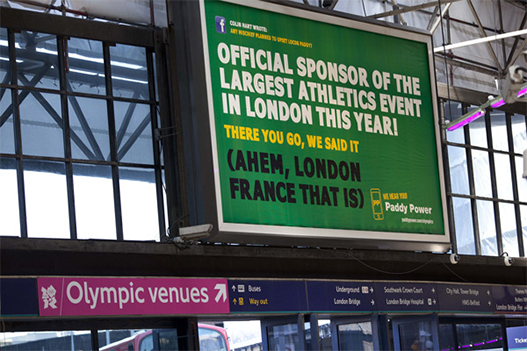 Paddy Partners Paddy Partners London Olympics